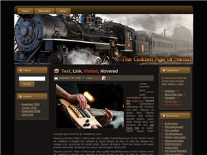 Steam Engine Blogger Theme Edition 2