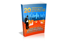 20 Productivity Boosting Methods For The Positive Mind