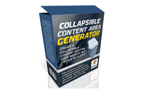 Collapsible Content Generator