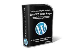 Easy Wordpress Sale Pages