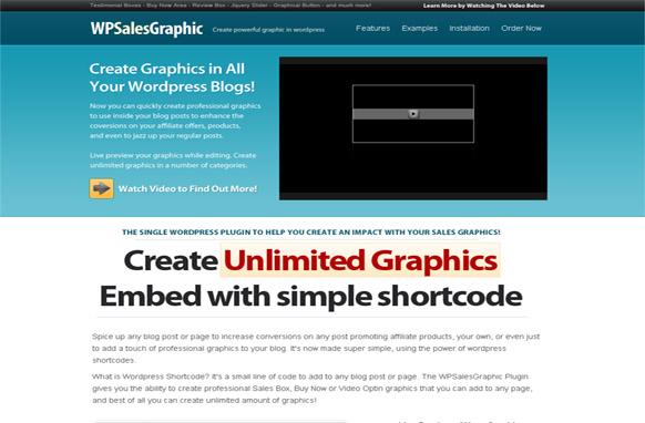 WordPress Sales Graphic Plugin