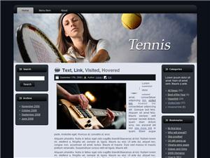 Tennis Blogger Theme