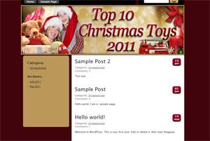 Top Christmas Toys WP Theme