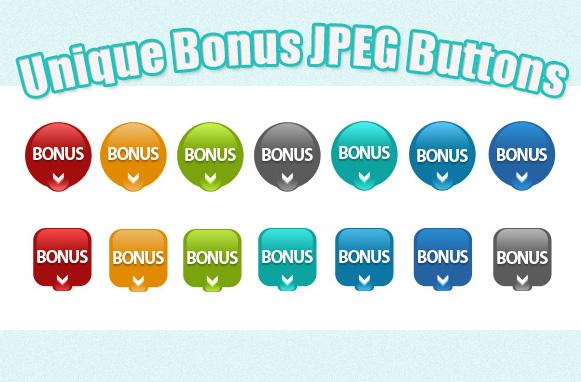 Unique Bonus JPEG Buttons