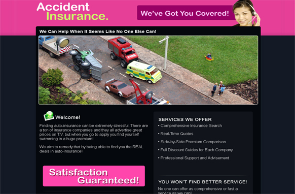 Accident Insurance HTML PSD Template