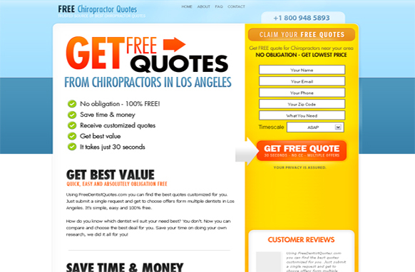 Chiropractors HTML PSD Template Edition 3