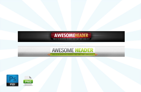 2 Sale Page PSD Banners