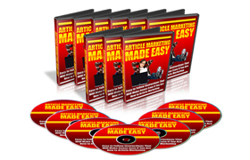Article Marketing Made Easy Video Series