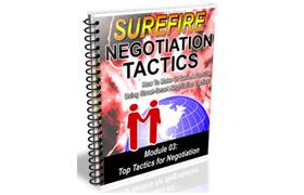 Top Tactics for Negotiation Guide