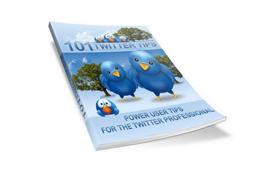 101 Twitter Tips Poster
