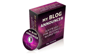 My Blog Announcer Software