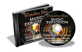 Royalty Free Music Explosion Pack
