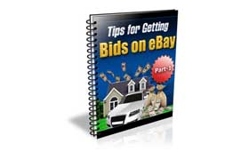 Tips For Getting Bids On Ebay Part 1