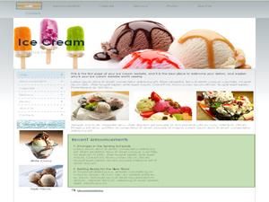 Delicious Ice Cream WP Theme