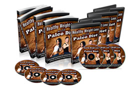 Healthy Weightloss With Paleo Diet Video Package