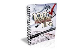 101 Resume Writing Tips