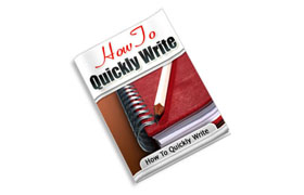 How To Quickly Write
