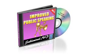 Improved Public Speaking Audio