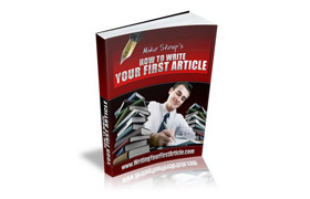 Writing Your First Article
