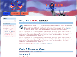 Happy 4th Of July WP Theme Edition 2