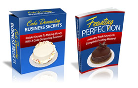 Cake Decorating Business Secrets Twin Set