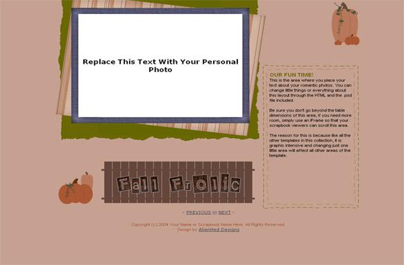 HTML PSD Web Template v8