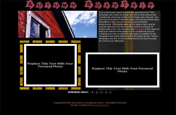 HTML PSD Web Template v10
