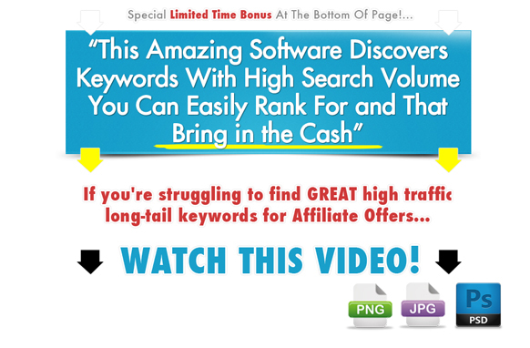 Awesome Marketing PSD Sales Headline Edition 5