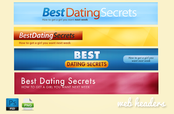 Dating website format