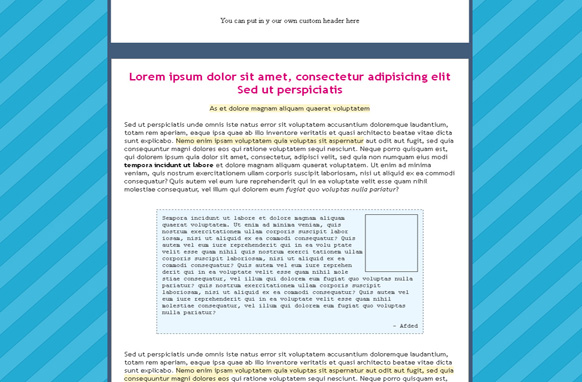 Landing Page HTML Template Edition 46