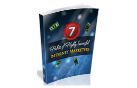 7 Habits of Highly Successful Internet Marketers