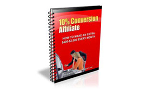 10% Conversions Affiliate