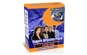 Expert Articles Pack