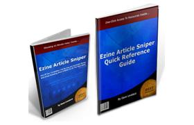 Ezine Article Sniper Resources