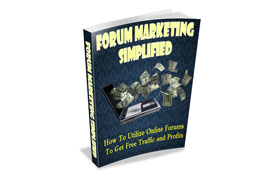 Forum Marketing Simplified