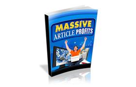 Massive Article Profits