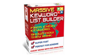 Massive Keyword List Builder