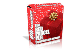 The Red Parcel Christmas PLR Articles