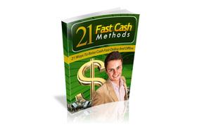 21 Fast Cash Methods