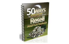50 Ways Profit From Resell & PLR Products