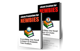 Ebook Creation and Promotion For Newbies Twin Set