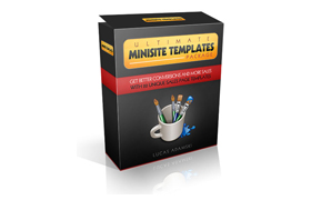 Ultimate Minisite Template Package
