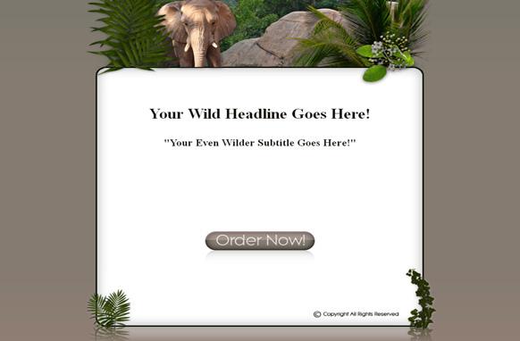 Wildlife HTML Template Edition 2