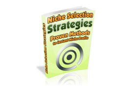 Niche Selection Strategies Proven Methods To Instant Niche Profits
