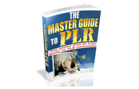 The Master Guide To PLR