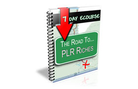 The Road The PLR Riches 7 Day Course