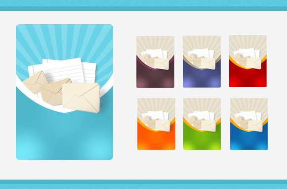 Subscribe Newsletter PNG Templates