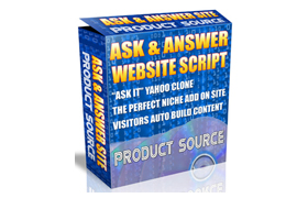 Ask and Answer Website Script