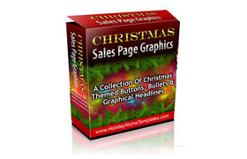 Christmas Salespage Graphics