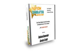Favicon Generator Service Script
